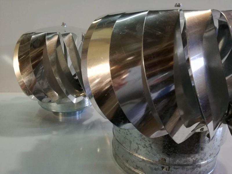 Extractor Eolico diametro 100mm